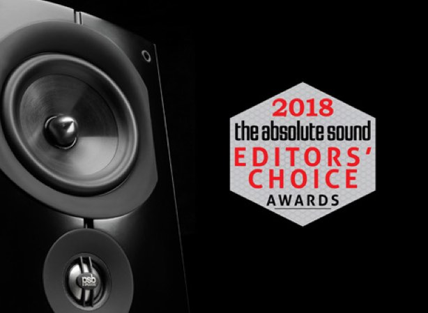 PSB Speakers Wins Three 2018 Editors' Choice Awards from The Absolute Sound