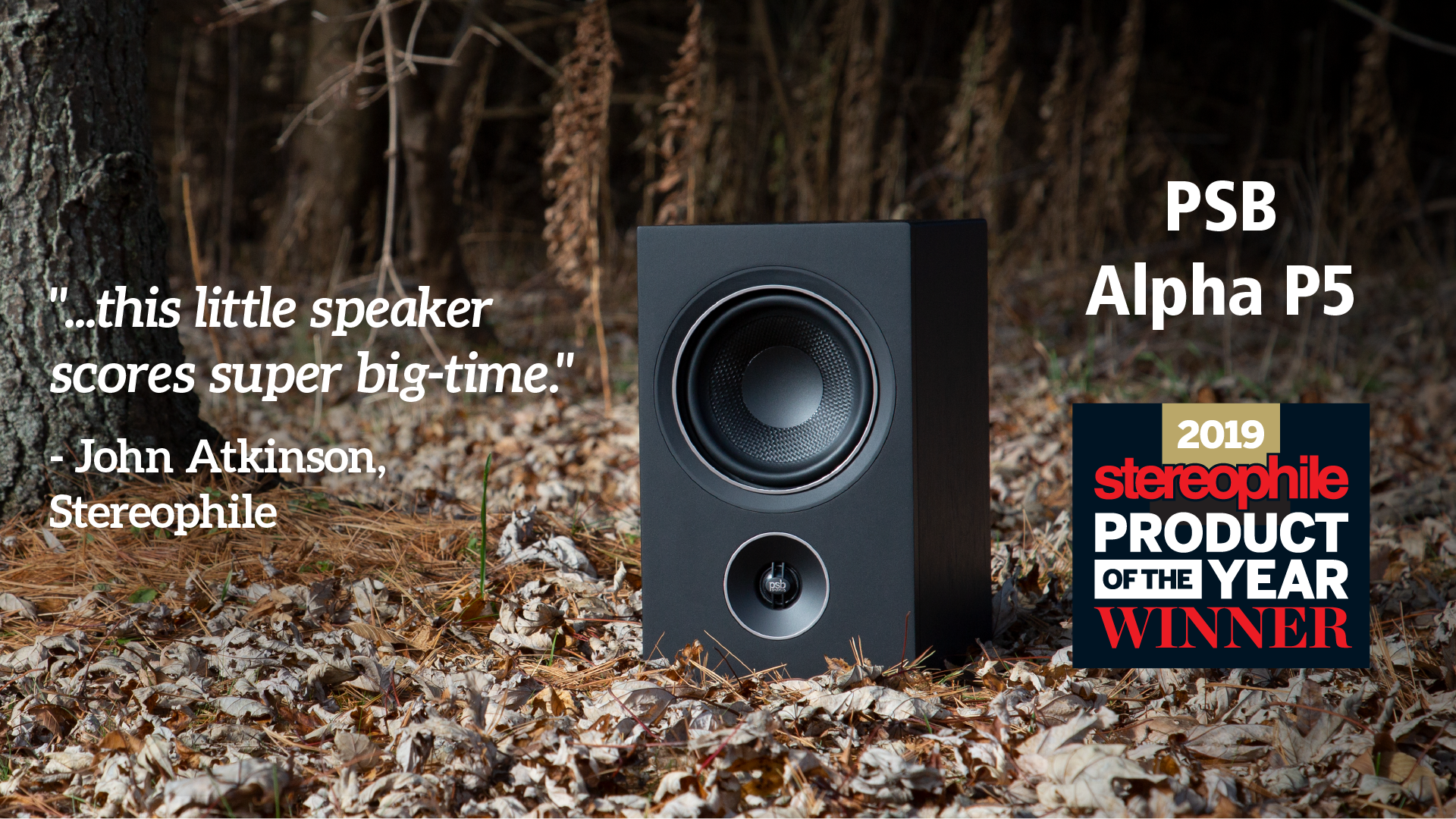 PSB Alpha P5 Wins Product of the Year Award from Stereophile