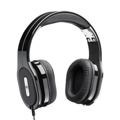 A pair of Black M4U 2 Headphones